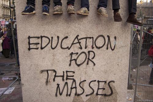 Free education graffiti 1